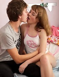 Juicy Teen Gets Her Pussy Fucked And Creamed pics