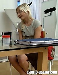 Sweet Blonde Teen Perverted By Horny M.d. pics