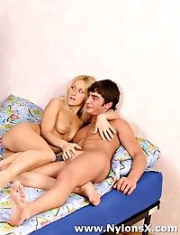Lucky Guy Fucking Two Amazing Blonde Teens pics